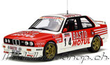 1989 BMW M3 Rally Tour de Corse #14 1:18