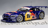 """>12h: 2007 BMW Z4 Coupe Silverstone """"Red Bull"""" #1 1:18"""