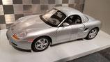 >12h: 1996 Porsche Boxster Hardtop silver 1:18