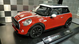 >12h: 2014 Mini Cooper S red-white 1:18