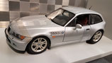 >12h: 1999 BMW Z3 Coupe 2.8 silver 1:18