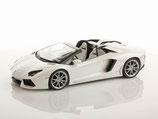2011 Lamborghini Aventador LP700-4 Roadster canopus-white 1:18