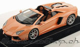 2011 Lamborghini Aventador LP700-4 Roadster peach metallic 1:18