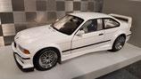 >12h: 1995 BMW M3 E36 GTR Street white 1:18