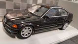 >12h: 1998 BMW E46 328i black metallic 1:18