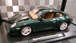>12h: 2008 Porsche 911 991 Carrera 4S dark green metallic 1:18