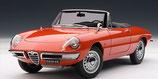 1967 Alfa Romeo Spider Duetto 1600 red 1:18