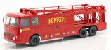Norev 1:18 Fiat Bartoletti 306/2 Renntransporter Ferrari Film Le Mans 1970