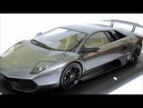 2009 Lamborghini Murcièlago LP670/4 SV grigio estoque  1:18