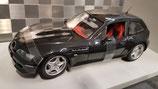 >12h: 1999 BMW Z3 M-Coupe black metallic 1:18