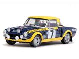 >12h: 1976 Fiat 124 Abarth Rallye Monte Carlo #7 M.Alen / I.Kivimaki 1:18