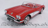 1959 Corvette roman-red / white 1:18