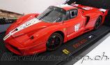 >12h: 2005 Ferrari FXX red #23 1:18