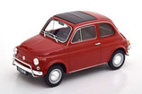 1971 Fiat 500 L red 1:18