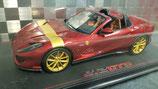 2019 Ferrari 812 GTS rosso fiorano with gold stripe 1:18