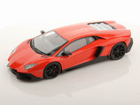 2013 Lamborghini Aventador LP720-4 50th anniversary orange argos 1:18
