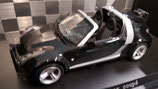 >12h: 2003 Smart Roadster Coupe black 1:18