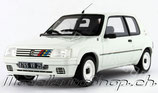 1991 Peugeot 205 Rallye 1.3 Phase 2 white 1:18