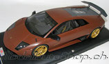 2009 Lamborghini Murcièlago LP670/4 SV brown matt  1:18