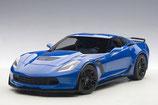 2014 Corvette C7 Z06 laguna tintcoat-blue 1:18