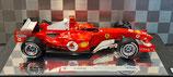 >12h: 2005 Ferrari F1 Michael Schumacher Nürburgring 1:18
