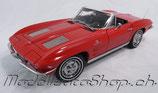 1963 Corvette Cabrio riverside-red 1:18
