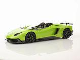 2012 Lamborghini Aventador J verde ithaca 1:18