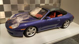 >12h: 1997 Porsche 911 996 Cabrio closed blue metallic 1:18