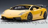 2009 Lamborghini Gallardo LP 560-4 Supetrofeo yellow metallic 1:18