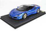 2019 Ferrari F8 Tributo blue corsa / new black daytona roof 1:18