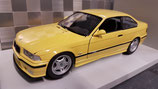 >12h: 1992 BMW M3 E36 yellow 1:18