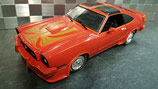>12h: 1978 Ford Mustang King Cobra red 1:18