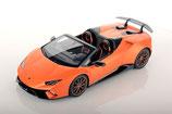 2018 Lamborghini Huracán Performante Spyder arancio anthaeus (matt) 1:18