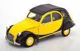 1982 Citroen 2CV Charleston yellow-black 1:18