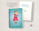 """Notiz- & """"Date mit deinem kleinen ich""""-Büchlein (für Frauen)"""
