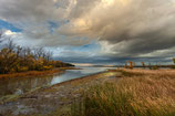 "METAL PRINTS OF ""THE LAPLATTE RIVER EMPTIES INTO SHELBURNE BAY"""