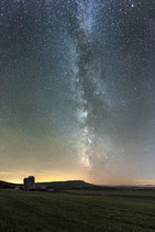 "METAL PRINTS OF ""THE MILKY WAY OVER SNAKE MOUNTAIN"""