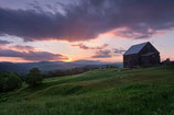 "METAL PRINTS OF ""CALAIS FARM AT SUNSET"""