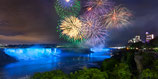 "METAL PRINTS OF ""FIREWORKS OVER NIAGARA FALLS"""