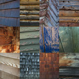 "SAVE 30% ON METAL PRINTS OF ""WOOD SIDING 1"""