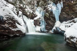 "METAL PRINTS OF ""BINGHAM FALLS IN WINTER"""