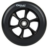 Chilli wheel TURBO black PU/ black core 110mm