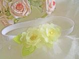 Kopfband mit gelben Blüten