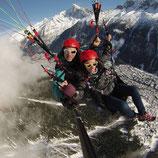 Parapente Chamonix Mont-Blanc Plan de l'aiguille