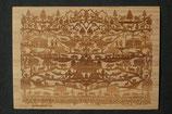 Bambus-Postkarte Alpaufzug