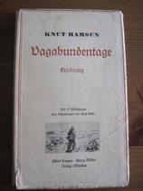 Knut Hamsun: Vagabundentage. Erzählung
