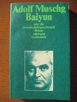 Adolf Muschg: Baiyun oder die Freundschaftsgesellschaft