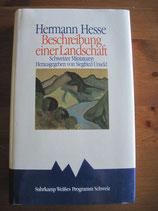 Hermann Hesse: Beschreibung einer Landschaft