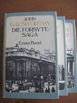 John Galsworthy: Die Forsyte-Saga. 3 Bände
