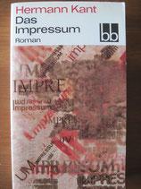 Hermann Kant: Das Impressum